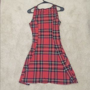 See You Monday Dresses - Red plaid dress